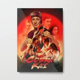 Cobra Kai Metal Print