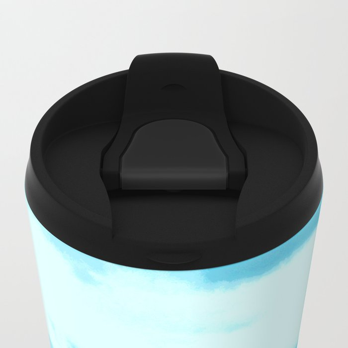 All At Once We Had It In For The Sky Metal Travel Mug