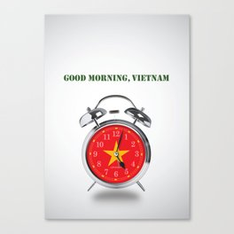 Good Morning, Vietnam - Alternative Movie Poster Canvas Print