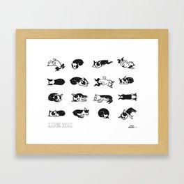 Sleeping Boogie Framed Art Print
