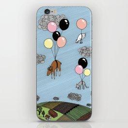 We´re flying iPhone Skin