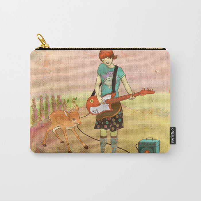 Guitar Fawn Carry-All Pouch