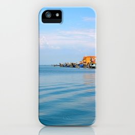 The city and the sea iPhone Case