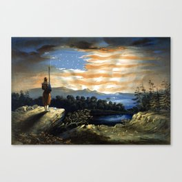 Our Heaven Born Banner Canvas Print