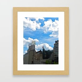 Minneapolis Ruins Framed Art Print
