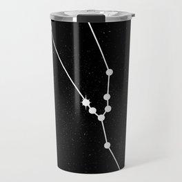TAURUS (BLACK & WHITE) Travel Mug