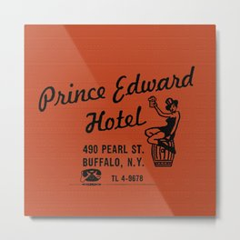 the Prince Edward Hotel Metal Print