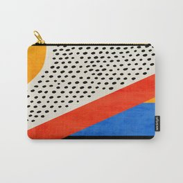 Mid Century Abstract Landscape Carry-All Pouch