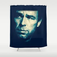 allison argent Shower Curtains featuring Chris Argent by Finduilas