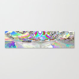 COLourS We noT See Canvas Print