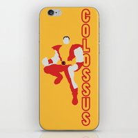 shadow of the colossus iPhone & iPod Skins featuring Colossus by Young Jake