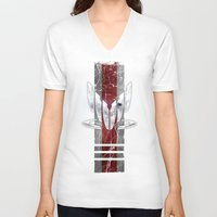 n7 V-neck T-shirts featuring N7 Spectre by Toronto Sol