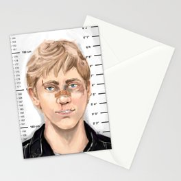 Mugshot Robert Sugden Stationery Cards