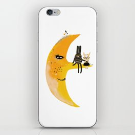 We and Mr. Moon iPhone Skin