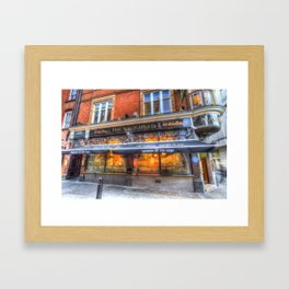 The Nags Head Pub Covent Garden London Framed Art Print