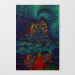 Trancelike State Psychedelic Canvas Print