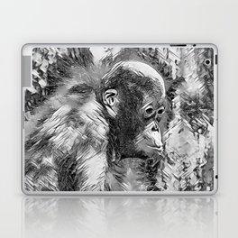 AnimalArtBW_OrangUtan_20170907_by_JAMColorsSpecial Laptop & iPad Skin