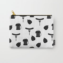 beer and sausages Carry-All Pouch