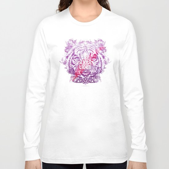 The White Tiger (Savage Version) Long Sleeve T-shirt