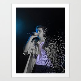 blue boy (dispersed) Art Print