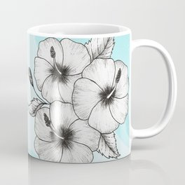 Hibiscus Sea Coffee Mug