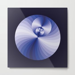 Blue magic D1 Metal Print