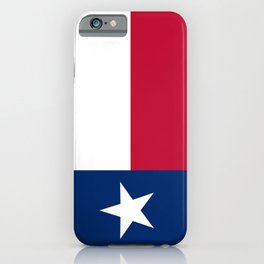 Texas State Flag iPhone Case