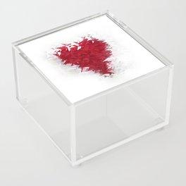 Heart Acrylic Box