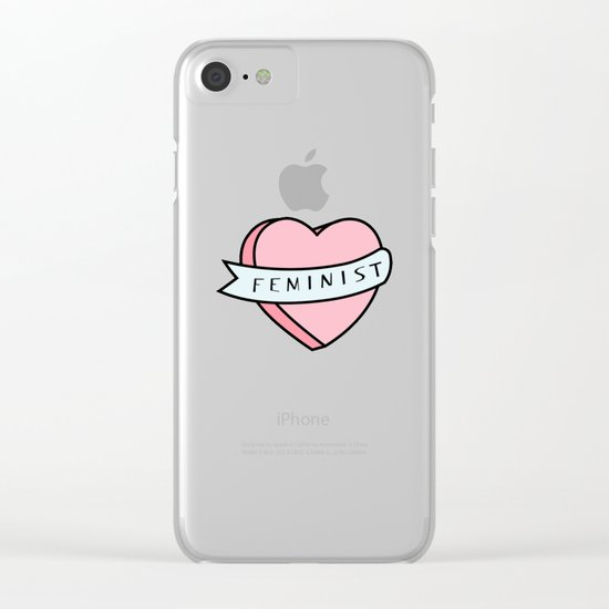 Feminist  Clear iPhone Case