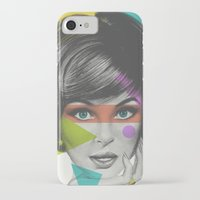 makeup iPhone & iPod Cases featuring Makeup by Zeke Tucker