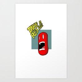 pill Art Print