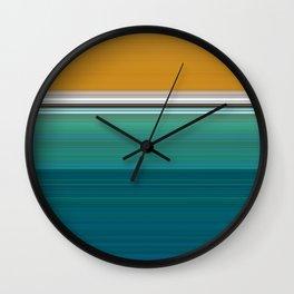 Swimming Pool Abstract Wall Clock