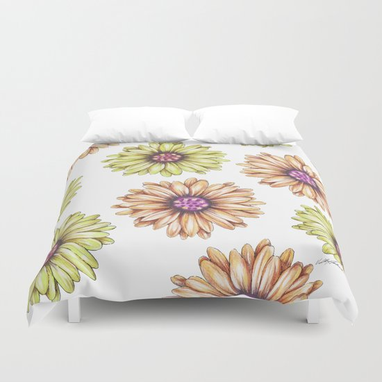 Fun With Daisy- In memory of Mackenzie Duvet Cover