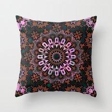 FEZ Moroccan Tiles {4f} Throw Pillow
