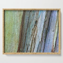 Colorful Eucalyptus Bark Serving Tray