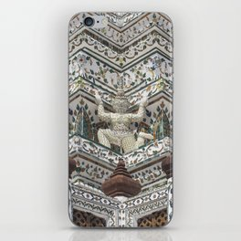 Details of Wat Arun (Temple of Dawn) in Bangkok iPhone Skin