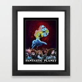 FANTASTIC PLANET  - THE HAND OF TERROR Framed Art Print