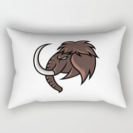 Myth Mammoth Elephant Mascot Sport Gaming Esport Logo Template Streamer Squad Team Club Rectangular Pillow