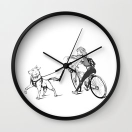 K-9 patrol Wall Clock