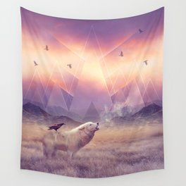 In Search of Solace Wall Tapestry