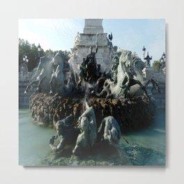 Monument aux girondins 3 Metal Print