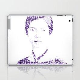 Emily Dickinson - Word Portrait Laptop & iPad Skin