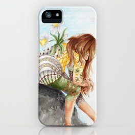 The Tranquility of Jonquil iPhone Case