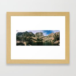 Emerald Lake Framed Art Print