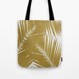 Palm Leaf Gold III Tote Bag