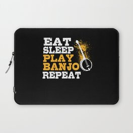 Banjo Player Laptop Sleeve