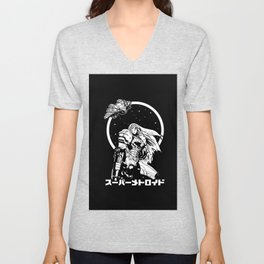 Interstellar Bounty Hunter Unisex V-Neck