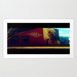 obey. Art Print