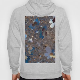 Lace of abstract flower meadow Hoody