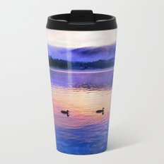 Morning Meditation (Sunrise) Metal Travel Mug